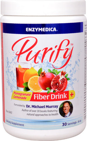 Purify Fiber Drink Pomegranate Lemonade