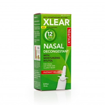 Xlear 12 Hour Nasal Decongestant spray