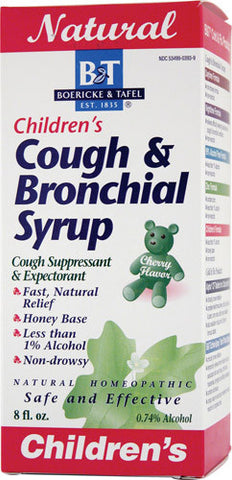 Children's Cough & Bronchial Syrup 8oz