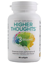 3 Brains Higher Thoughts
