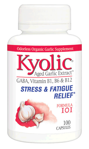 Kyolic Aged Garlic #101 Stress & Fatigue Relief