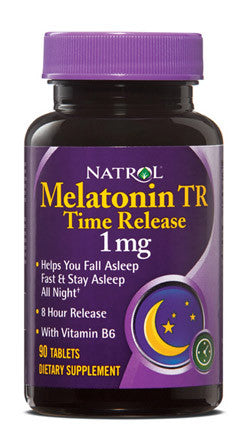 Melatonin 1 mg time release tablets