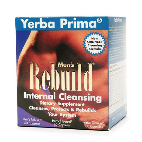 Men's Rebuild Internal Cleansing