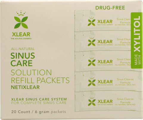 NetiXlear Sinus Care Solution Refill Packets