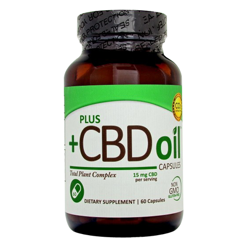 PlusCBD Oil Total Plant Complex 15 mg
