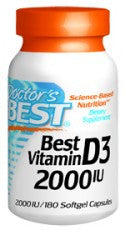 Best Vitamin D3 2000 iu