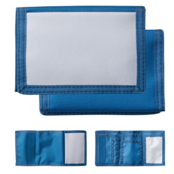 Wallet - Nylon - Blue