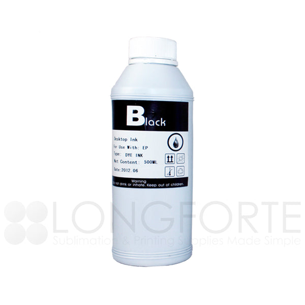 Epson Compatible Dye Ink Refill Bottle Black 100ml