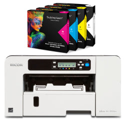 Ricoh SG3110DN A4 Sublimation Printer with SubliSplash Inks