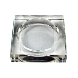 Blank Square Photo Crystal Ashtray for UV Printing