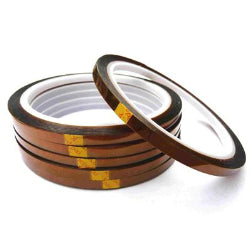 Heat Resistant Tape - Brown - 6mm