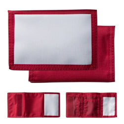 Wallet - Nylon - Red