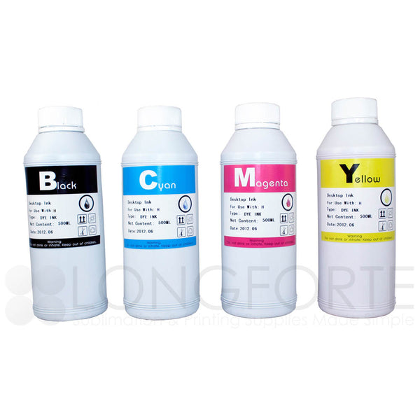 HP Compatible Dye Ink Refill Set 500ml