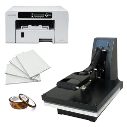 38cm x 38cm T-Shirt Printing Sublimation Starter Package with Printer