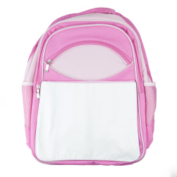 Bags - Extra Large 'Youth' Rucksack with Panel - Pink