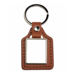 Keyring - Sublimation Plastic Keyring/ Dog Tag - Rectangle