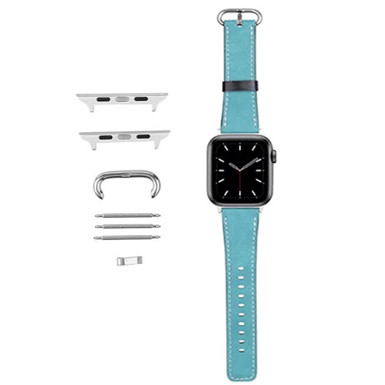 Accessories - Sublimation Wrist Strap for 42MM Apple Watch - Aqua Green