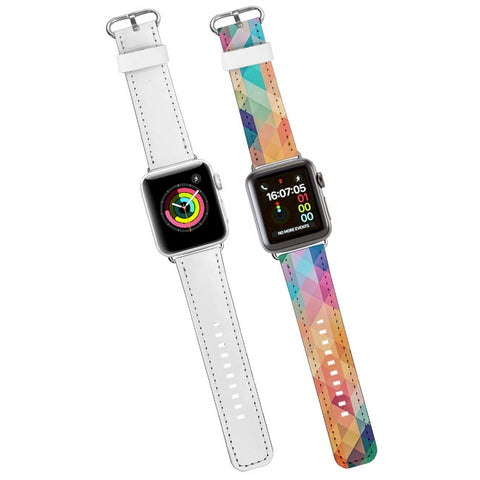 Accessories - Sublimation Wrist Strap for 42MM Apple Watch - WHITE