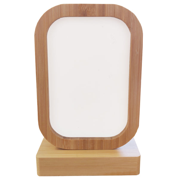 Photo Frame - Bamboo/ MDF - Revolving Magnetic Frame - Rectangle
