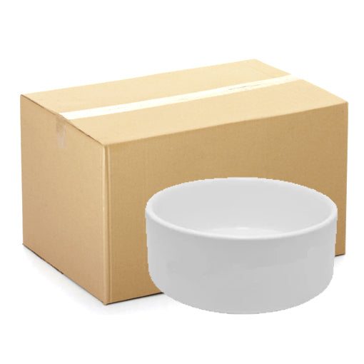 CARTON - 12 x Bowls - Ceramic - Dog Bowl