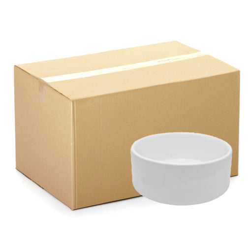 CARTON - 6 x Bowls - Ceramic - Small Pet Bowls