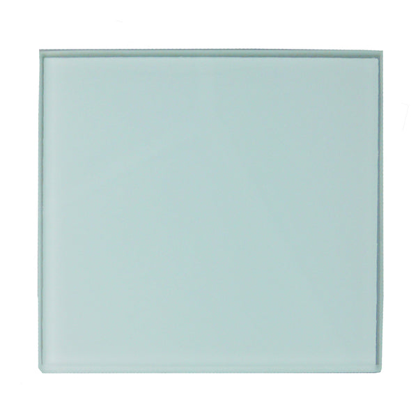 Cutting Board - Glass - SQUARE - 20cm - Smooth Finish