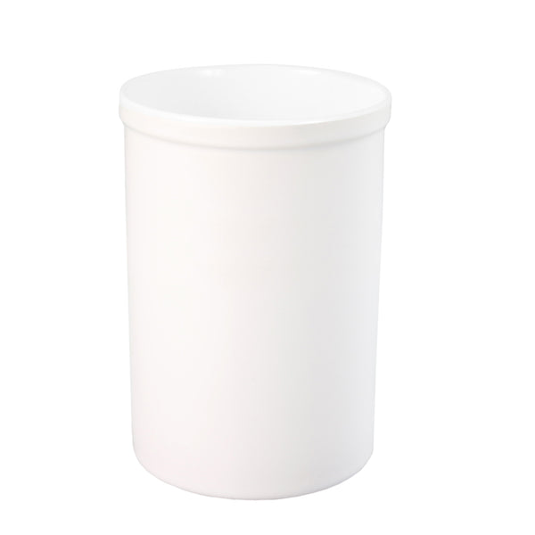 Pen Pots - Ceramic - 15oz Pencil Holder - Plain White