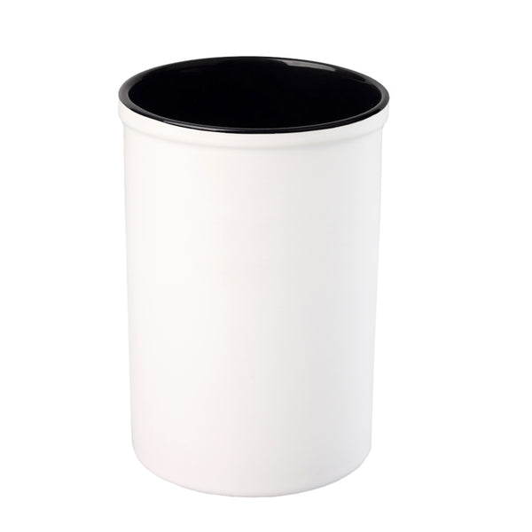 Pen Pots - Ceramic - 15oz Pencil Holder - Black