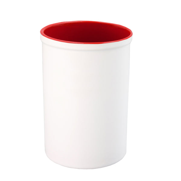 Pen Pots - Ceramic - 15oz Pencil Holder - Red