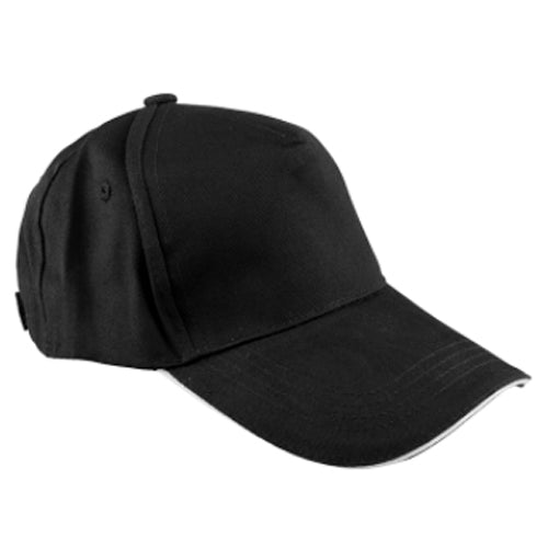 Hats & Headwear - COTTON - Baseball Cap - Jet Black