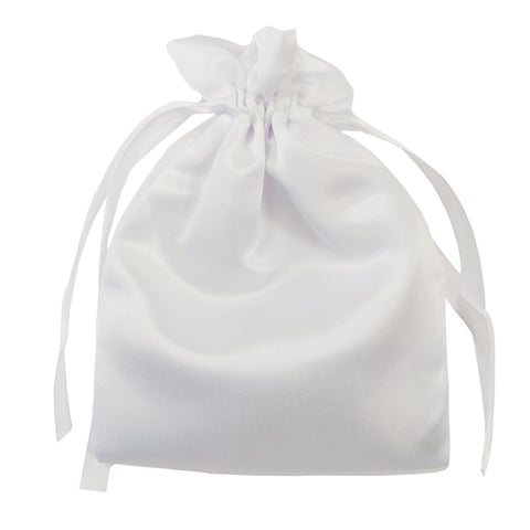 Bags - DOUBLE DRAWSTRING - SATIN - 17cm x 25cm