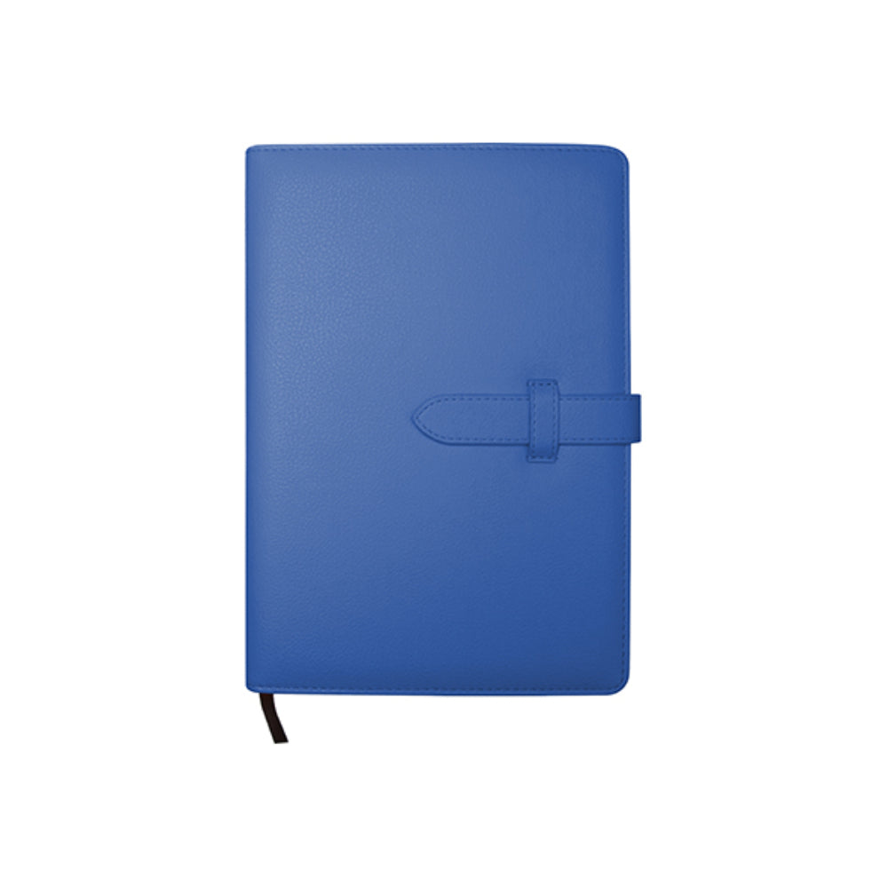 Engravables - LEATHER - A5 Notebook - Dark Blue