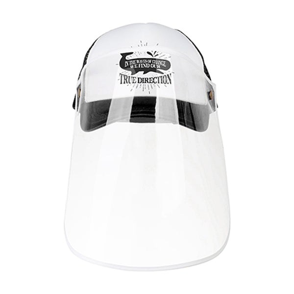 Apparel - Cap with Face Shield - ADULT - Black
