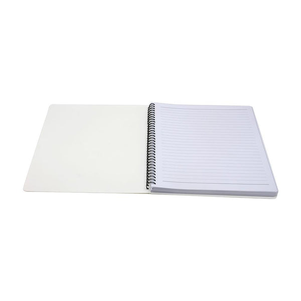 Notebook - Large A4 Wiro Notebook - Cardboard