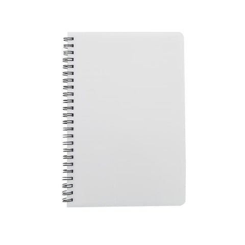 Notebook - A5 Wiro Notebook - Cardboard