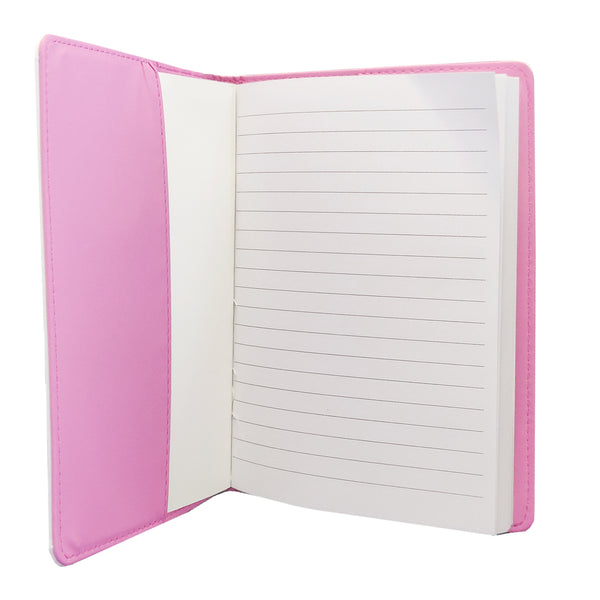 Notebook - A5 Notebook and Cover - Pink