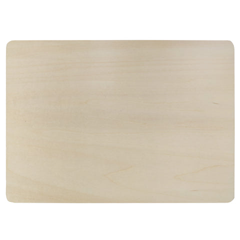 Placemat - PLYWOOD - Double Sided Wooden Placemat - 20cm x 28cm