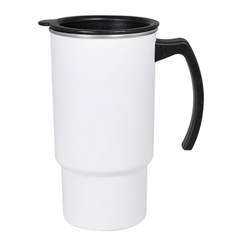 Mug - PolySteel - MATT FINISH - 18oz Travel Mug With Open Handle