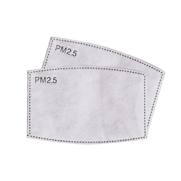 Apparel - Face Coverings - Spare PM2.5 Filters for Sublimation Face Masks