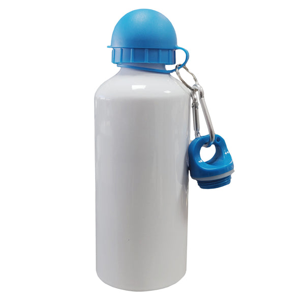 Water Bottles - COLOURED Two Lids (BLUE) - 600ml