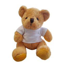 Soft Toys - Teddy Bear with Printable T-Shirt - Gold
