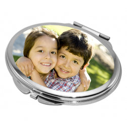 Pocket Compact Mirror - Oval