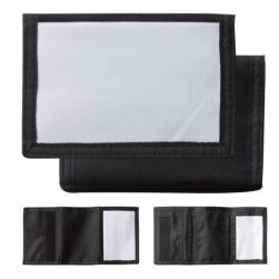Wallet - Nylon - Black