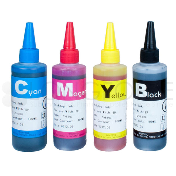 Epson Compatible Dye Ink Refill Set 100ml