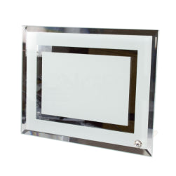 Frames - Glass - Double Mirror Edge - 23cm x 18cm