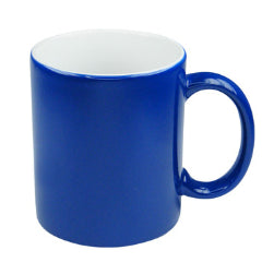 11oz Blank Blue Colour Changing Sublimation Mugs