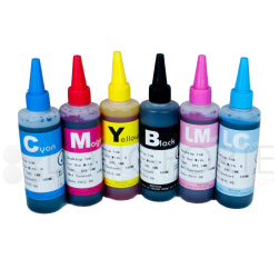 HP Compatible Dye Ink Refill Set 100ml