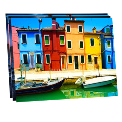 "Pack of 10 x Ultra HD 1.15mm Thick Sublimation Aluminium Sheets - 11.8"" x 15.7"" (30cm x 40cm)"