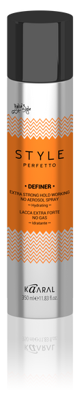 DEFINER Extra Strong Hold Working Non-Aerosol Spray