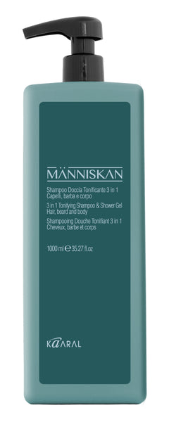 Manniskan 3 in 1 Tonifying Shampoo & Shower Gel
